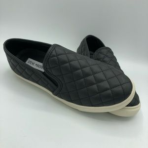 STEVE MADDEN Ecentrcq quilted slip-on sneakers NEW